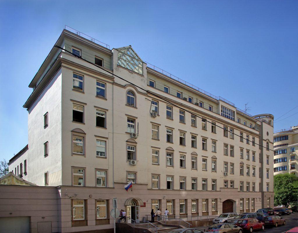 Замоскворецкий районный суд города Москва